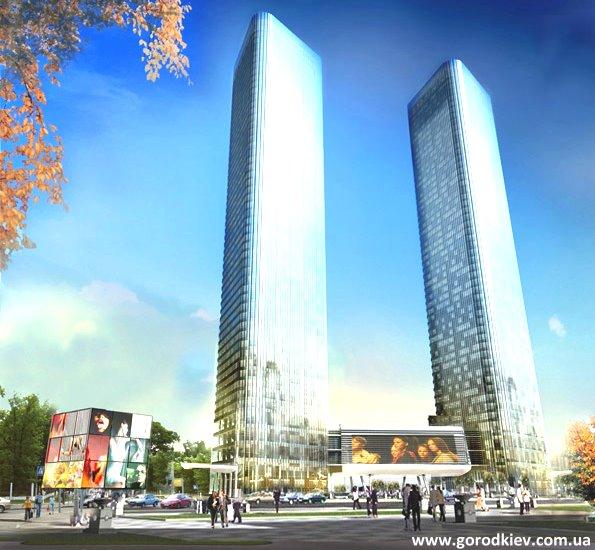 В Киеве появятся башни-близнецы (ФОТО)