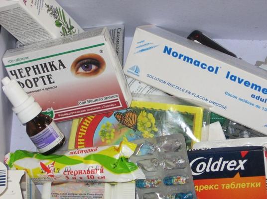 Лекарства в Киев могут и не попасть