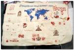 В Киеве сшили карту мира