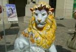 Киевлянам подарят 133-килограммового льва