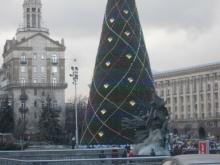 Киевскую елку назвали лучшей в Восточной Европе