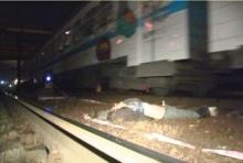 В Киеве поезд убил мужчину