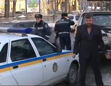 ГАИшники задержали пьяного священника Киевской епархии