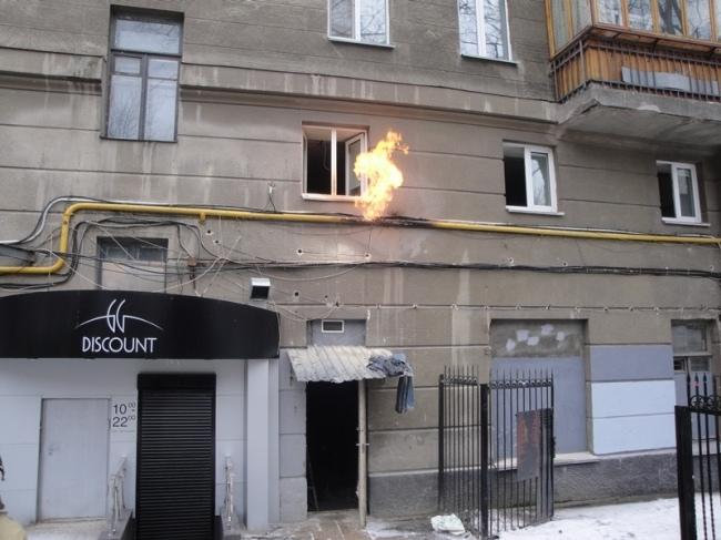 На Крещатике чуть было не взорвался жилой дом