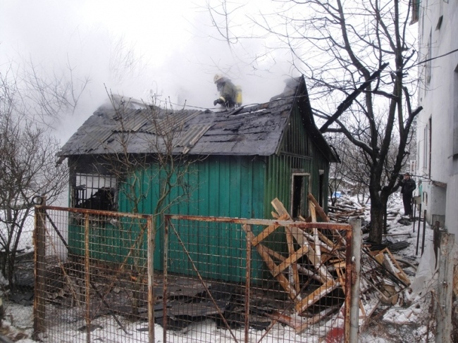 В Киеве в пожаре погибли охранники