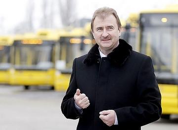 Попов запустил в Киеве новый транспорт