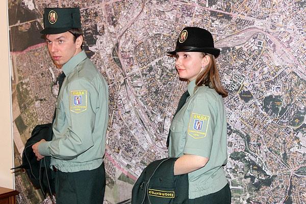 Киевских инспекторов обяжут ходить в форме