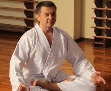 Тимофей Нагорный начал заниматься карате