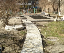 В Голосеевском районе Киева появится новый мини-сквер