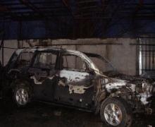НА СТО в Киеве сгорели две машины
