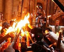 Из Иерусалима в Киев отправляется Благодатный огонь