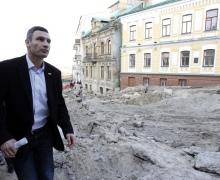 Бульдозеры должны исчезнуть с исторического Киева