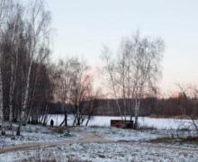 Под Киевом в ледяной глыбе нашли труп 26-летней киевлянки