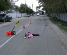 Под Киевом 16-летний подросток на мотороллере сбил мать с ребенком