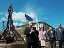 Под Киевом открыли памятник ликвидаторам аварии на ЧАЭС