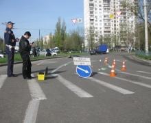 В Киеве водитель насмерть сбил пенсионерку, переходящую дорогу