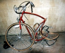 В столице в результате ДТП травмирован велосипедист