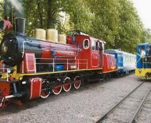 На днях в Киеве заработает детская железная дорога