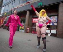 Активистки FEMEN дали объяснения акту секстремизма трах-бабах