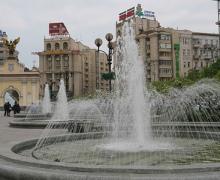 На Майдане Незалежности на две недели отключат фонтаны
