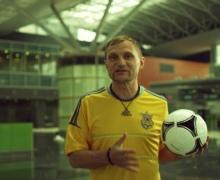"""В аэропорту """"Борисполь"""" прошли съемки неофициального гимна Евро-2012"""