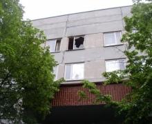 Сегодня утром в Киеве горела детская поликлиника