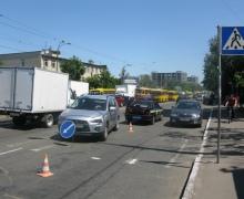 В Киеве восьмиклассник попал под колеса авто