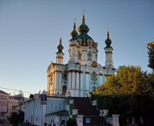 Андреевская церковь пережила работы по реконструкции