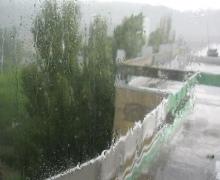 В некоторых районах Киева прошел ураган (ВИДЕО)