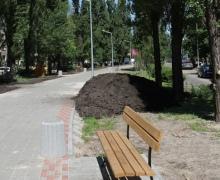 На реконструкцию бульвара Давыдова власти потратили 4 млн. грн.
