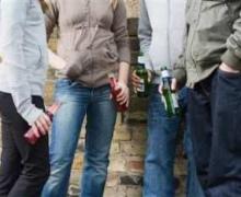 На Киевщине школьники часто злоупотребляют пивом