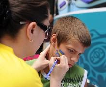 В киевской фан-зоне состоится фестиваль боди-арта