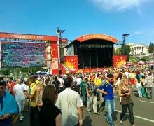 Фан-зона в Киеве меняет режим работы
