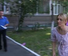FEMEN бросили торт в лицо начальника пресс-службы МВД Украины