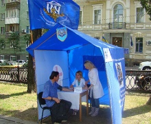 В Киеве можно бесплатно измерять артериальное давление