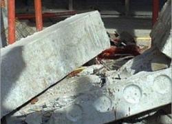 В Киеве на крышу балкона упала 200 кг бетонная плита