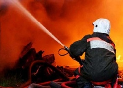 В Киеве в частной усадьбе заживо сгорел мужчина
