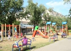 На Русановке появилось новое место для детских игр