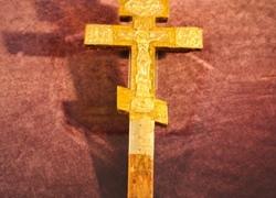 В Лавре показывают крест Сергия Радонежского