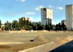 На Оболони строят новый спортивный комплекс под открытым небом