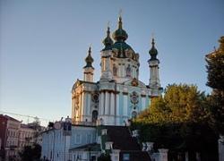 Возле Андреевской церкви появится туристический трамвай