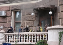В столичной стоматологической клинике случился пожар