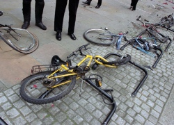 В Киеве увеличится количество велопарковок