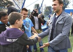 Шевченко собирается популяризировать футбол в киевских школах