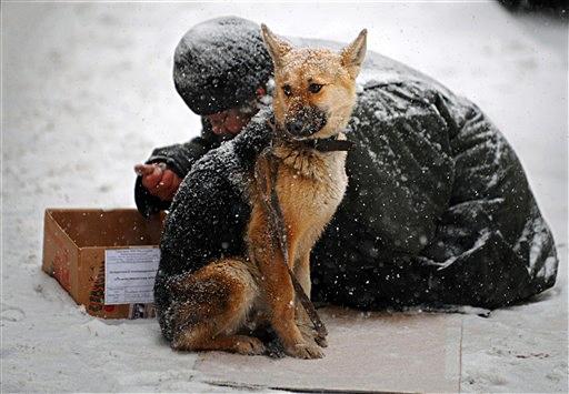 В Киеве зимой увеличится количество бездомных людей