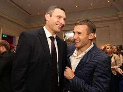 Кличко отказался разговаривать с Шевченко на тему спорта