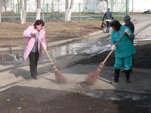 Киев готовится к генеральной уборке
