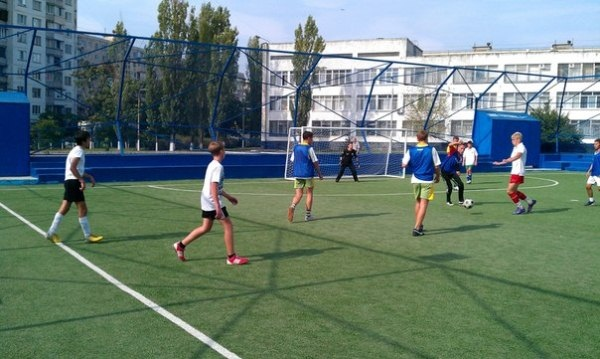 На Оболони стартовал III турнир по футболу для детей