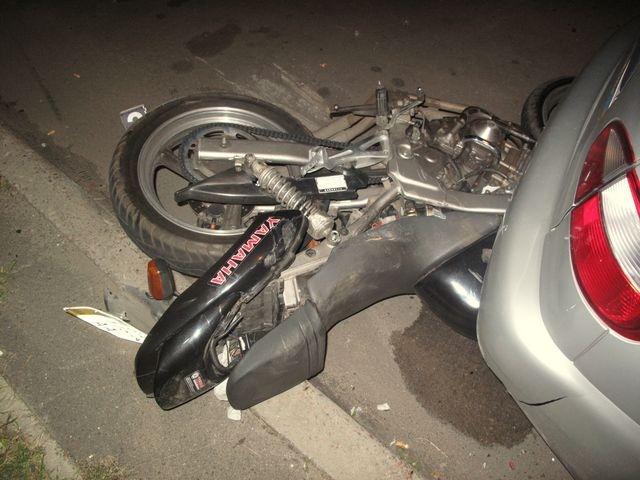 На улице Щербакова погиб 23-летний мотоциклист
