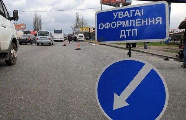 В двух разных районах Киева на дорогах травмировались дети